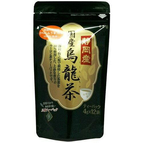 寿老園 静岡産 烏龍茶 ティーパック 4g×12袋
