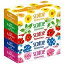 スコッティ ティシューフラワーボックス160組×5の画像