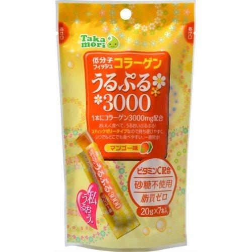 高森 うるぷる3000 マンゴー味 20g×7