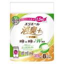 エリエール 消臭+ トイレットティシュー コンパクト ダブル(8ロール) 大王製紙