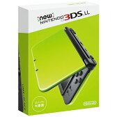 Nintendo 3DS NEW ニンテンドー 3DS LL ライム/ブラック