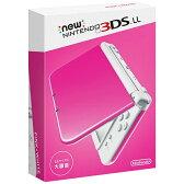 Nintendo 3DS NEW ニンテンドー 3DS LL ピンク/ホワイト