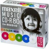 マクセル 音楽用CD-R 80分 10枚パック A80MIX.S1P10S