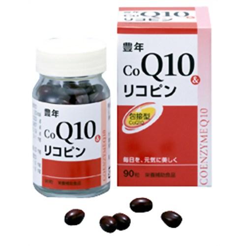 Jオイル 豊年COQ10&リコピン 90粒
