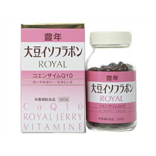 Jーオイルミルズ 豊年大豆イソフラボンROYAL 180粒