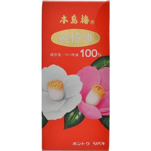 本島椿 純椿油 (赤箱)大 118ml