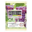 マンナン 蒟蒻畑 ぶどう味 袋 25g×12個の画像