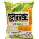 マンナン 蒟蒻畑 オレンジ味 25gX12の画像