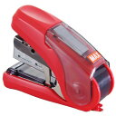マックス ホッチキス サクリフラット HD-10FLK/R レッド