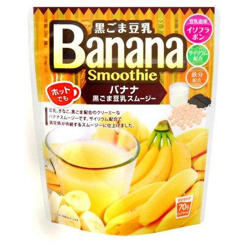 ユニマットリケン 黒ごま豆乳バナナスムージー 70g