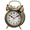 リズム時計 CITIZEN (シチズン) 目覚し時計 ツインベルRA06 8RAA06-063