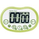 リズム時計 リズムタイマーアクア 緑 8RTA02RH05