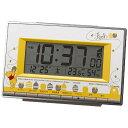 アラームデジタル くまのプーさん リズム時計 くまのプーさん 目覚まし時計 8RZ133MC08 アラムデジタルクマノプサン