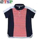 TSP ゲームシャツ マニスシャツ レッド 卓球 ゲームシャツ・パンツ TSP-30072-040の画像