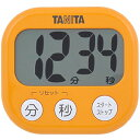 タニタ でか見えタイマー アプリコットオレンジ TD-384-OR