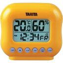 タニタ デジタル温湿度計 TT-532-OR オレンジ
