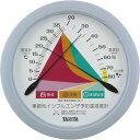 タニタ 季節性インフルエンザ予防温湿度計 TT-548 ブルー