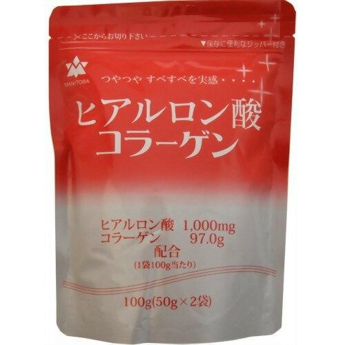 ヒアルロン酸コラーゲン 粉末タイプ 100g