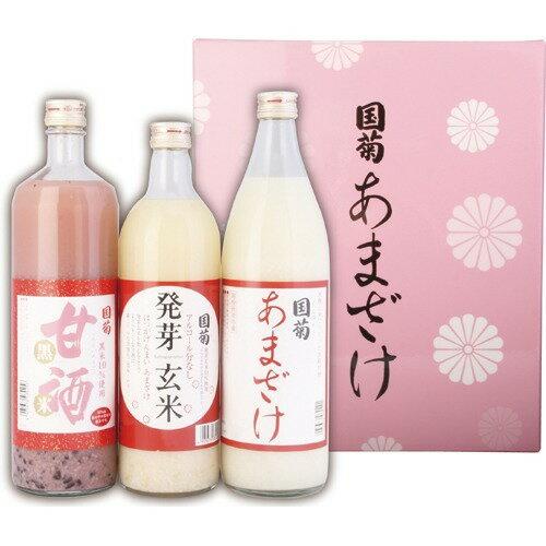篠崎 国菊甘酒 3本セット AM-3S