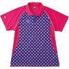 バタフライ/Butterfly 45000-8 卓球ユニフォーム ジェムステーン・シャツ ピンク