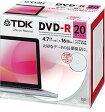 TDK 1回録画用PCデータ用DVD-R 1-16倍速対応 4.7GB ホワイトディスク 20枚 DR47PWC20UE