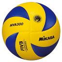 MIKASA ミカサ バレーボール 試合球 5号 黄/青 MVA300