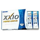 ダンロップゴルフボール XXIO AERO DRIVE ホワイト/1ダース XXIO_AERO_DRIVE