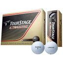 ブリヂストンゴルフボール TOURSTAGE EXTRA DISTANCE 1ダース 12球 /ホワイト TEWX