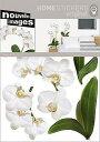ホームステッカー/アルチュール White Orchid(ウォールステッカー/インテリアステッカー/インテリアシール)
