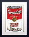 Andy Warhol/ウォーホール《Chiken Noodle/キャンベルスープ》