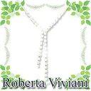 ロベルタ・ヴィヴィアーニ ネックレス RVN85 シルバーの画像
