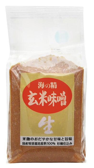 海の精 玄米味噌 1000g