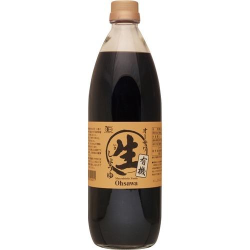 オーサワ 有機生醤油 1L