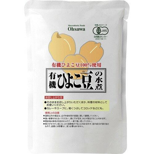 オーサワ 有機ひよこ豆の水煮 230g