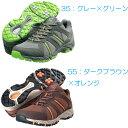 ミズノウォーキングシューズ OD-EX02 26.5cm :3E/ダークブラウン×オレンジ B1GA140155 B1GA140155