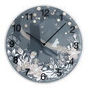 Moomin timepieces ムーミンタイムピーシーズ  ムーミン Wall Clock Moomin in the Forest MTP030008