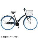 アサヒサイクル 27型 自転車 ヴァリエッティ27E ブラック×ブルータイヤ/シングルシフト FVE7R