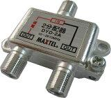 【MAXTEL/マックステル】 CS/BS/地デジ対応 2分配器(1端子電流通過型)DYD-2A