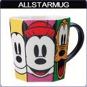 《ディズニーオールスター》六角形マグカップ(陶器製)の画像