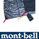 モンベル(mont-bell) モンベル(mont-bell) ステラリッジ 4 グラウンドシート ブルーブラック(BLBK) 192×222cm 1122174の画像
