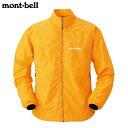 モンベル リフレック ウインドジャケット ゴールデンオレンジ XSの画像