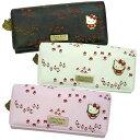 コラボロングウォレット(お花畑/刺繍)SHINZI KATOU(長財布)の画像