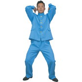 カラフル学ラン Mens ブルー