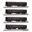 鉄道模型 カトー KATO Nゲージ 10-1370 オハ61系客車 4両セット カトー 10-1370 オハ61