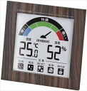 カルネバーレ 温度湿度計 アクアビット N-023 BR