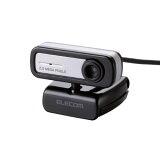 エレコム Webカメラ 200万画素 マイク内蔵タイプ ブラック UCAM-C0220FBBK