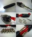 ツール12種類付きダイナモ充電式 6LEDライトDT600