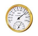 クレセル スタンダード 温度計・湿度計 壁掛け用 CR-101W ホワイト