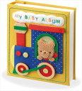 Baby & Kids Photo Album トレイン 849-110 100枚収納 フォトアルバム #94254