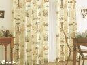【ディズニーカーテン】 くまのプーさんクラシックプー [ 思い出 ]100cm×135cm(2枚組)の画像